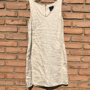 CYNTHIA ROWLEY Linen Dress Size 10